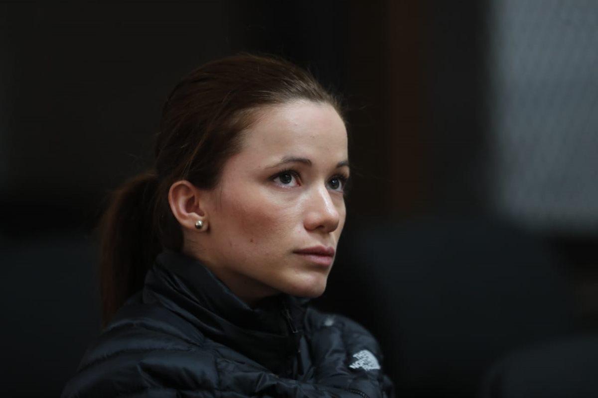 Daniela Beltranena busca declararse culpable en caso de corrupción en el Registro Catastral
