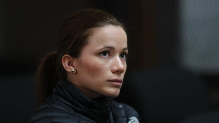 La exlegisladora del extinto Partido Patriota, Daniela Beltranena, goza de libertad condicional. (Foto Prensa Libre: Erick Avila)