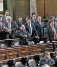 Varios Miembros de la bancada oficialista, FCN-Nación, han estado detrás de los intentos por aprobar en el Congreso iniciativas que buscan fomentar la impunidad. (Foto Prensa Libre: Hemeroteca PL)