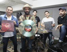 Bohemia Suburbana promociona vinilo de Imaginaria Sonora. (Foto Prensa Libre: Keneth Cruz)