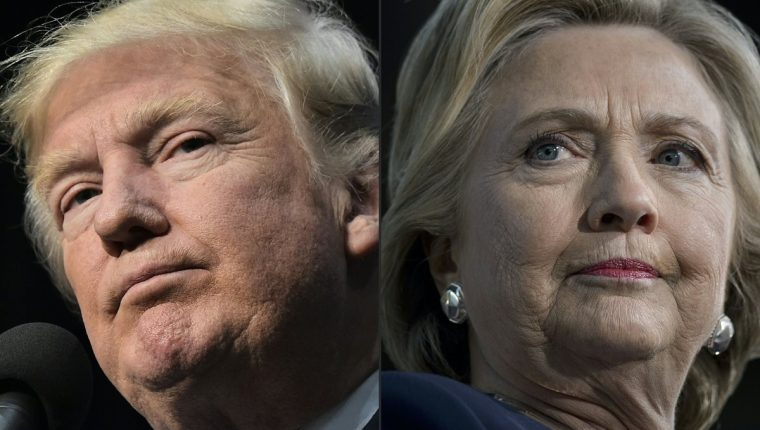 Los candidatos presidenciales de EE. UU. se disputan este día la presidencia. (Foto Prensa Libre: Hemeroteca PL)