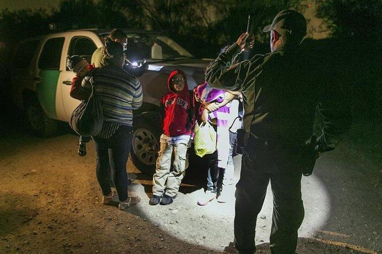 Miles de niños no acompañados llegan cada año la frontera sur de EE. UU. (Foto Prensa Libre: Hemeroteca PL)