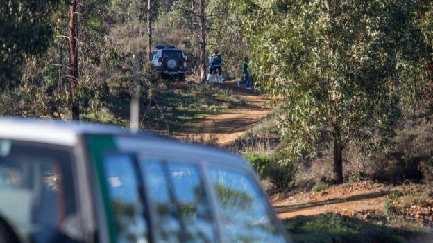 El cuerpo fue hallado entre matorrales en una zona de monte en El Campillo. GETTY IMAGES