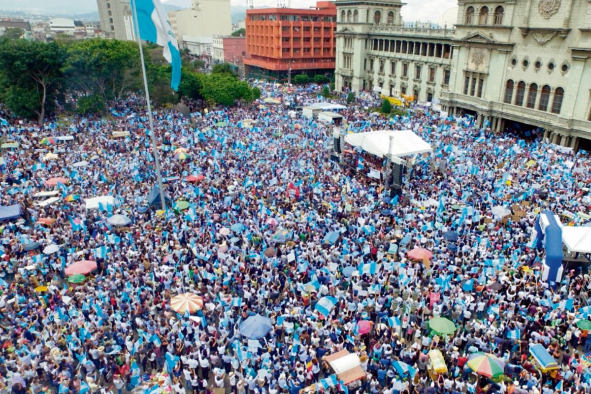 Rememorarán primera protesta de 2015