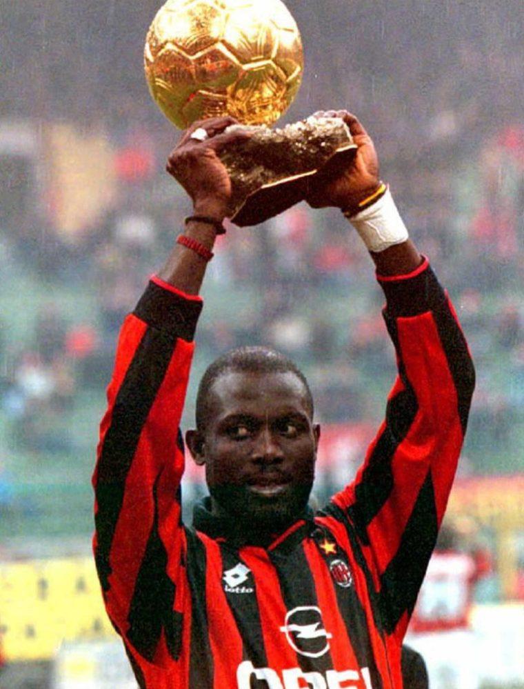 El jugador ganador del Balón de Oro en 1996 fue elegido presidente de su país. (Foto Prensa Libre: AFP)