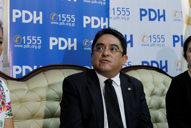 El Procurador de los Derechos Humanos, Jordán Rodas. (Foto Prensa Libre: Hemeroteca PL).