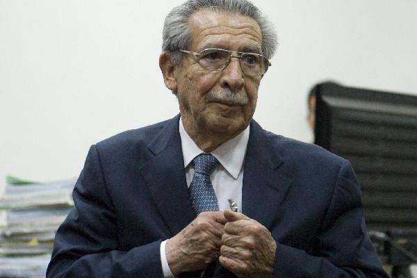 Ríos Montt no sabe si será amnistiado.