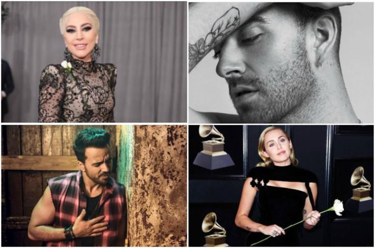 Lady Gaga, Sam Smith, Luis Fonsi y Miley Cirus son algunas de las celebridades que no se escaparon de los memes.(Foto Prensa Libre: Twitter)
