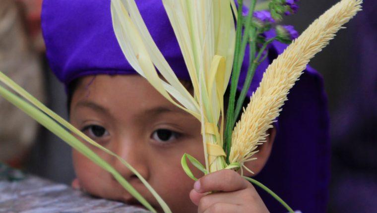 El Domingo de Ramos es el primer día con el que inicia la Semana Santa. (Foto Prensa Libre: Hemeroteca PL)