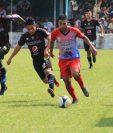 Deportivo Iztapa llega a 21 puntos y se acerca a la zona de clasificación. (Foto Prensa Libre: Enrique Paredes)