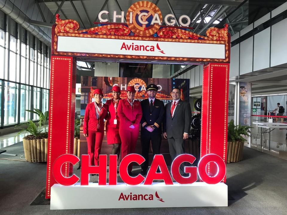 Las nuevas rutas hacia Nueva York y Chicago son vuelos directos y diarios. (Foto Prensa Libre: Cortesía Avianca)