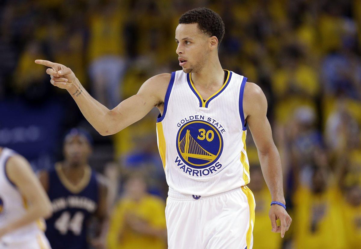 Stephen Curry será uno de los grandes ausentes de río 2016. (Foto Prensa Libre: AP)