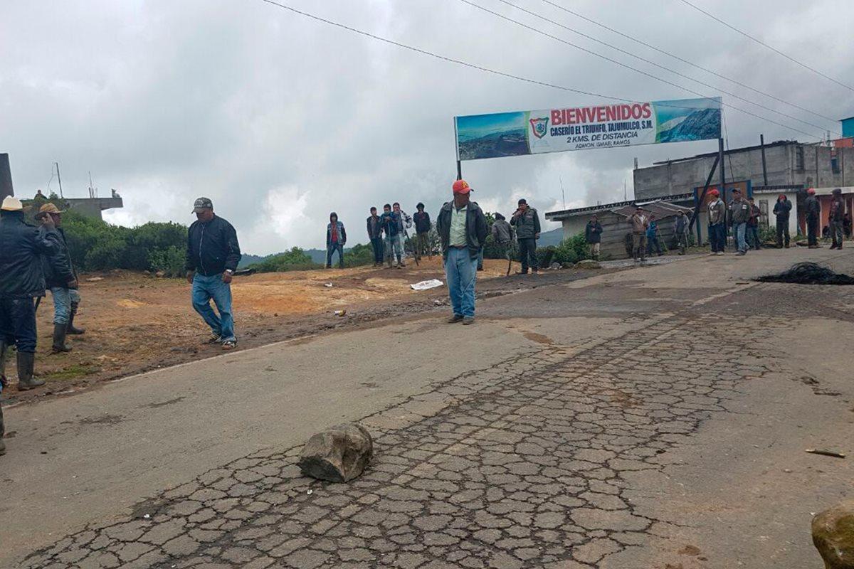Continúan enfrentamientos entre pobladores de Ixchiguán y Tajumulco
