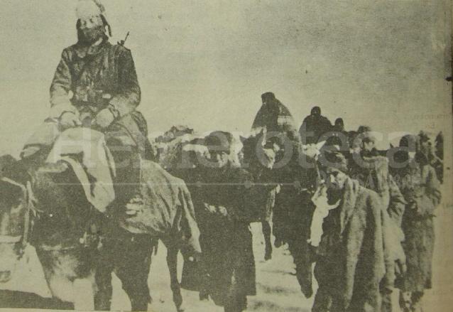 Las tropas alemanas avanzan en territorio soviético en 1941. (Foto: Hemeroteca PL)