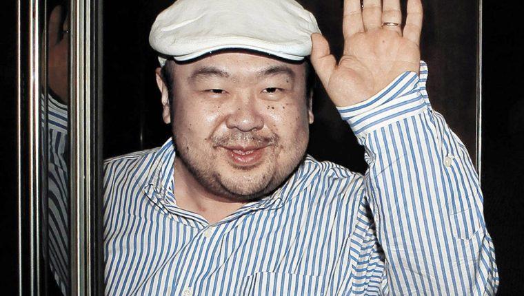 Kim Jong-nam, hermanastro del presidente norcoreano, Kim Jong-un, quien fue asesinado en Malasia. (Foto Prensa Libre: AFP)