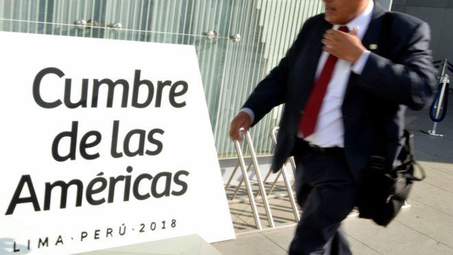 Los jefes de Estado y de gobierno de 34 países del hemisferio están invitados al encuentro de Lima. (AFP).