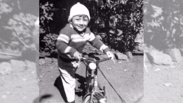 La bicicleta era una de las principales aficiones de Marco Antonio. (Foto: familia Molina Theissen)