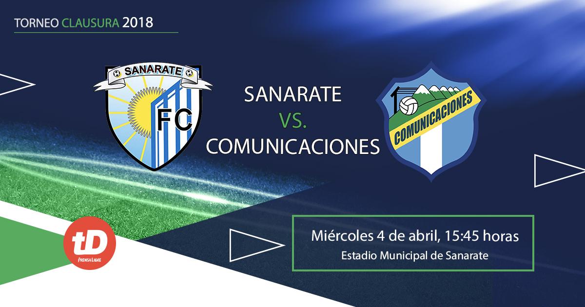 Sanarate y Comunicaciones se miden esta tarde en el Municipal de Sanarate. (Foto Prensa Libre: TodoDeprotes)