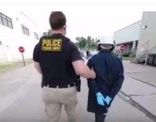 Cientos de migrantes son detenidos  a diario en EE. UU. (Foto Prensa Libre: Hemeroteca PL)