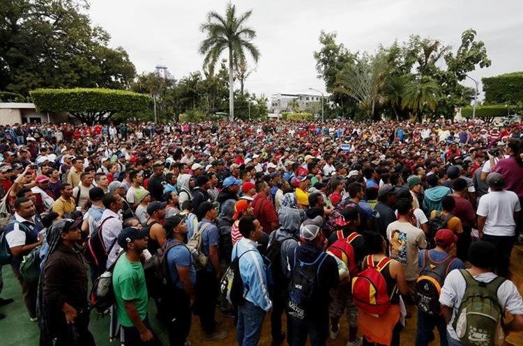 Guatemala extrema medidas por grupos de migrantes desde El Salvador