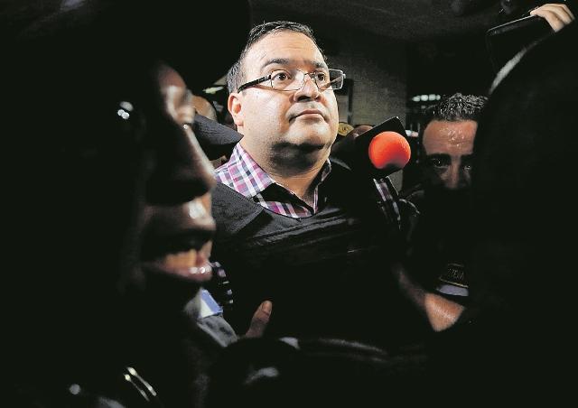 Javier Duarte fue ligado a proceso en México por tres delitos. (Foto Prensa Libre: Hemeroteca PL)