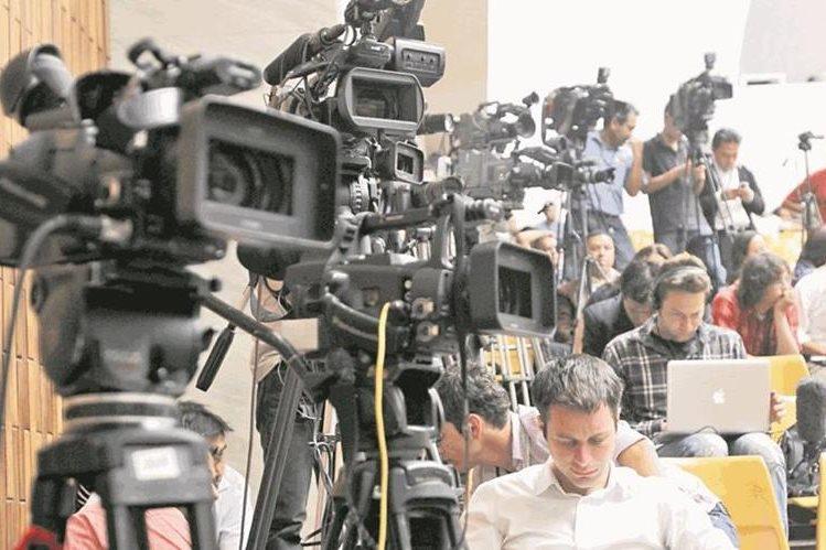 La Oacnudh expresó su preocupación por las campañas de desprestigio contra periodistas. (Foto Prensa Libre: Hemeroteca PL)