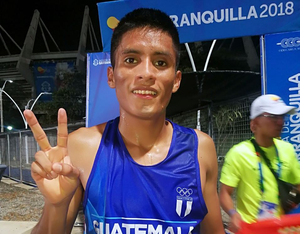 Pacay sigue siendo uno de los mayores exponentes del atletismo guatemalteco. (Foto Prensa Libre: Carlos Vicente)