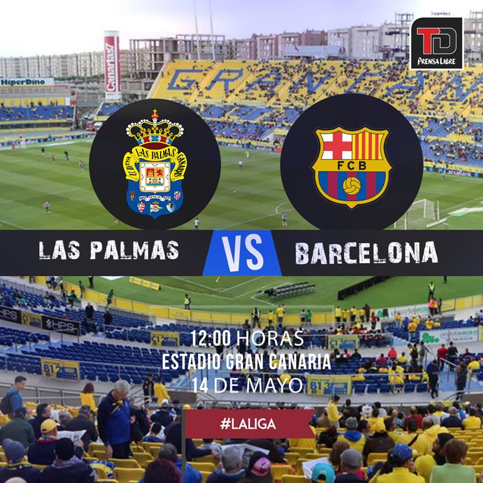EN VIVO | Las Palmas vs Barcelona