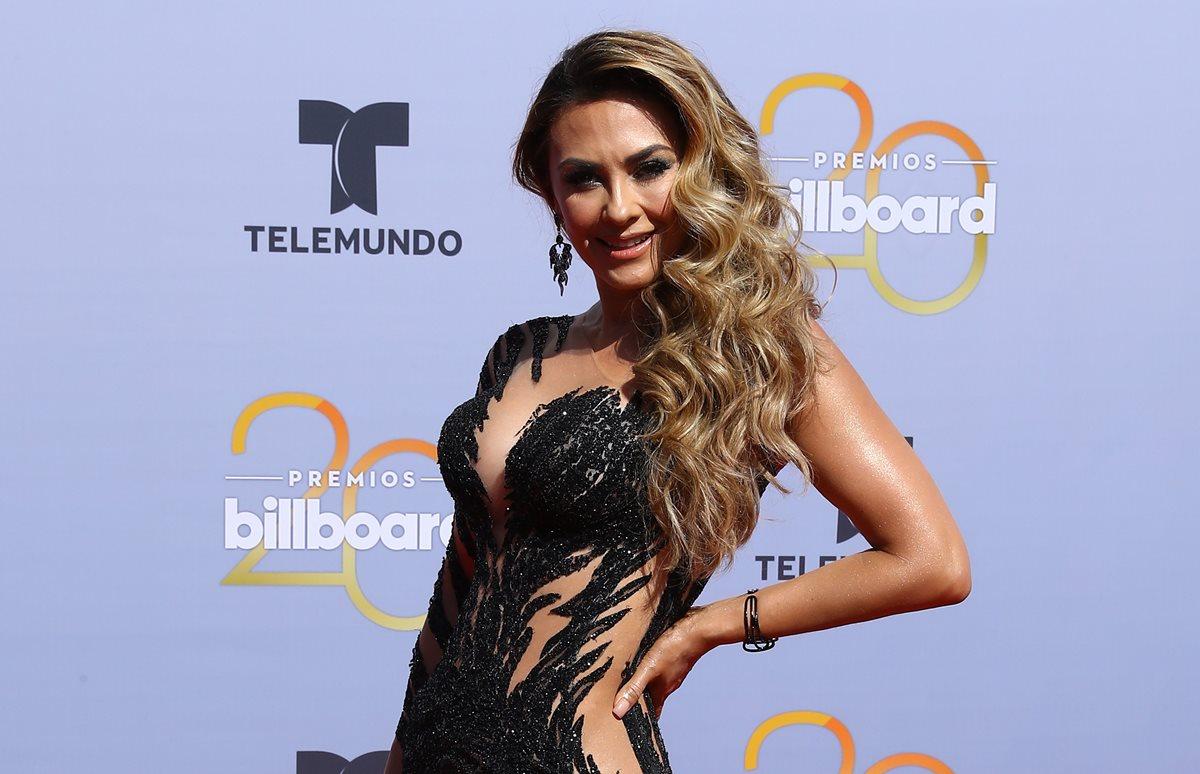 La actriz y cantante mexicana Aracely Arámbula visitará Guatemala el próximo 4 de diciembre. (Foto Prensa Libre: Cortesía).