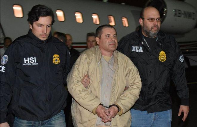 El Chapo está en una prisión de máxima seguridad de Estados Unidos. REUTERS
