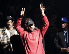 """El rapero Kanye West presentó su tercera colección Yeezy junto con la salida mundial de su nuevo álbum """"La vida de Pablo"""". (Foto Prensa Libre, AP)"""