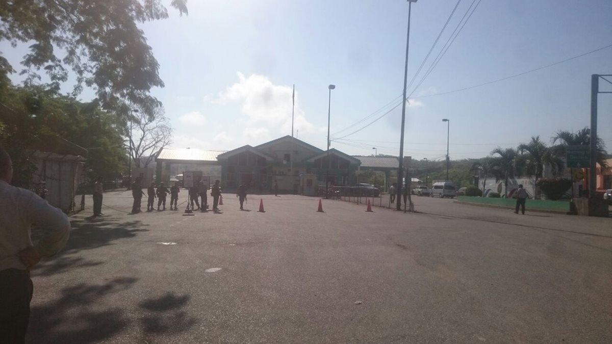 Lugar donde se registró el incidente en la zona de adyacencia con Belice. (Foto Prensa Libre: Rigoberto Escobar).