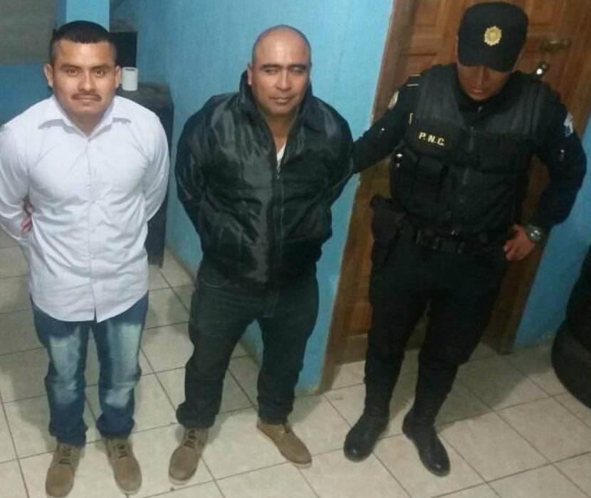 Capturan a dos presuntos sicarios que pretendían cometer un ataque