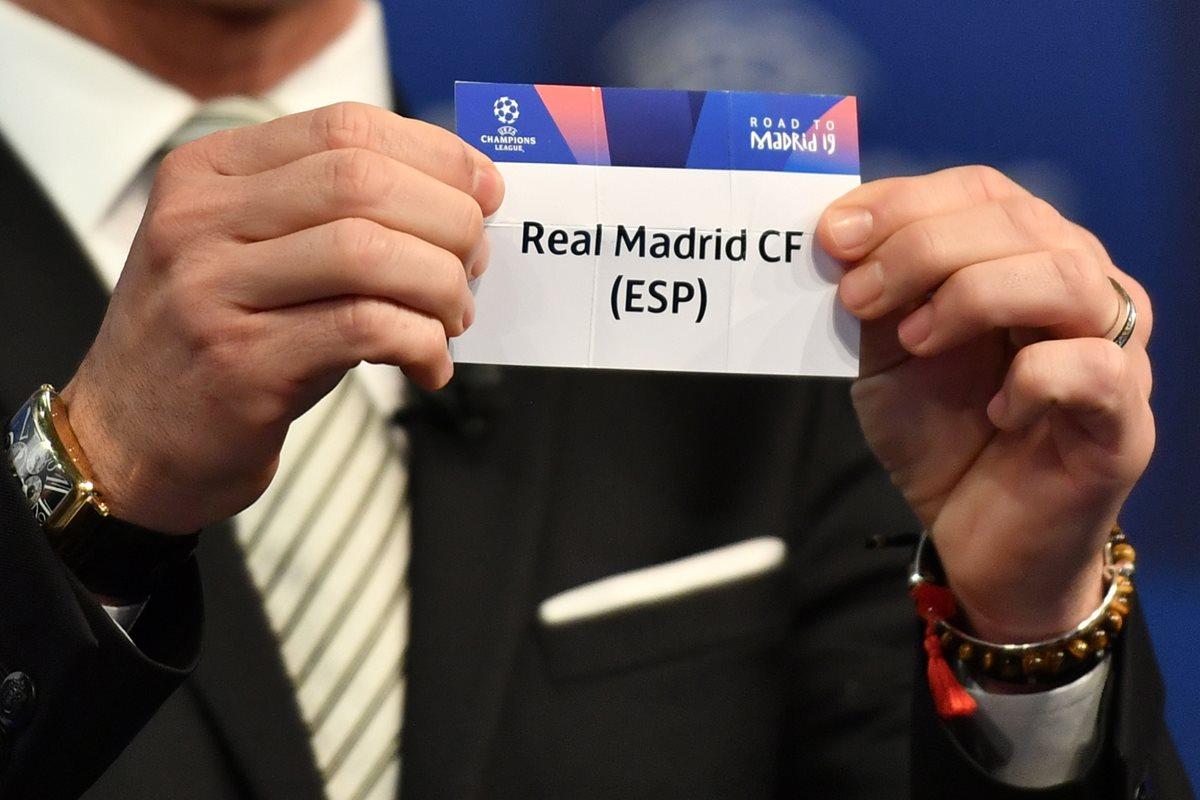 Estas son las llaves de los octavos de final de la Liga de Campeones de Europa que se disputarán entre febrero y marzo de 2019. (Foto Prensa Libre: AFP)