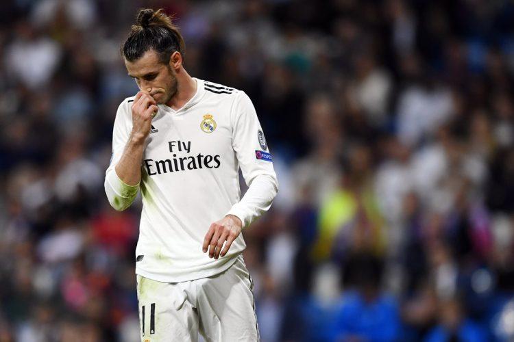 A pesar de intentar por todas las vías, el delantero galés Gareth Bale no pudo anotar.