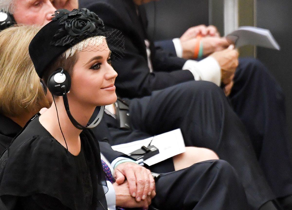 Katy Perry conoce al Papa y se reconcilia con Orlando Bloom