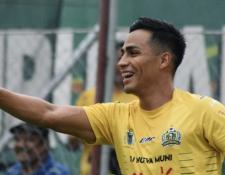 Luis Martínez abrió el marcador en la victoria de Guastatoya 3-0 contra Antigua GFC. (Foto Prensa Libre: CD Guastatoya)