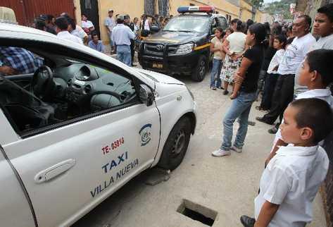 Héctor Rubén Matzar  Ijchajchel, de 35 años, murió baleado en Villa Nueva.