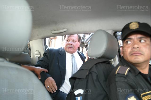 Rubén Darío fue presidente del Congreso en el 2007 y capturado en el 2009. (Foto HemerotecaPL)