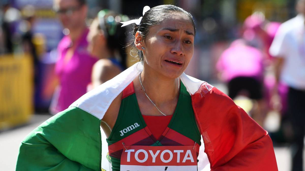 Lupita González está en medio de la polémica por caso de dopaje. (Foto Prensa Libre: EFE)