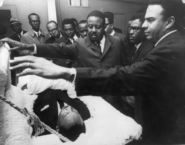 Martin Luther King Jr. fue asesinado el 4 de abril de 1968. GETTY