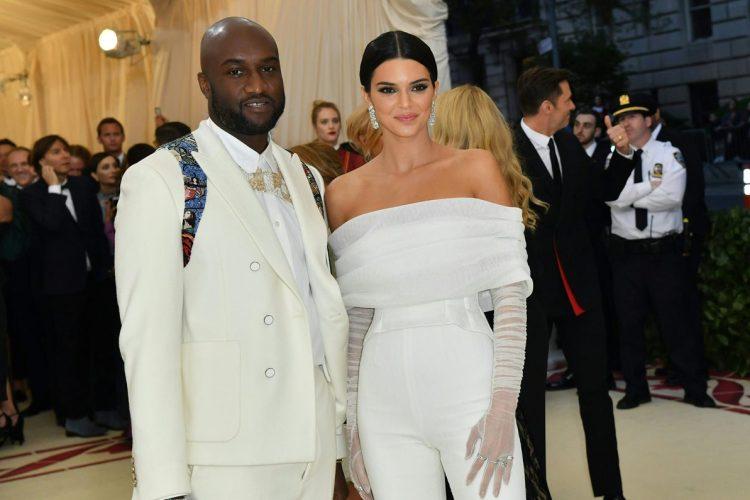 Virgil Abloh y Kendall Jenner.