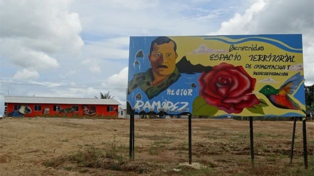 Hay 26 campos de entrenamiento y reintegración distribuidos por toda Colombia. REUTERS