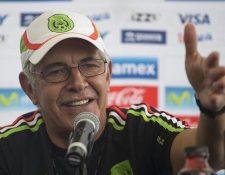Ferretti vuelve a hacerse cargo de la Selección de México de forma interina. (Foto Prensa Libre: Hemeroteca PL)
