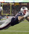 Rob Gronkowski es una de las preocupaciones de los jugadores de los Eagles. (Foto Prensa Libre: Hemeroteca PL)