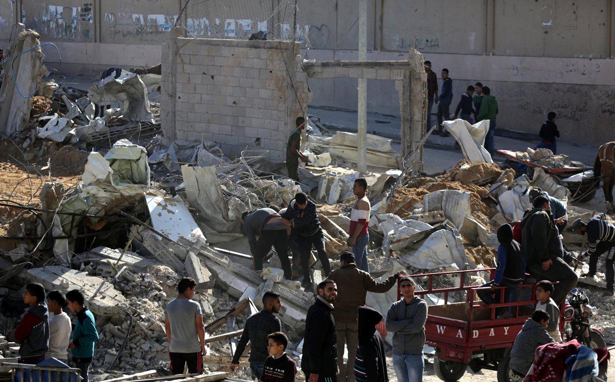 Cuatro palestinos muertos en bombardeos israelíes en protestas contra reconocimiento de Jerusalén