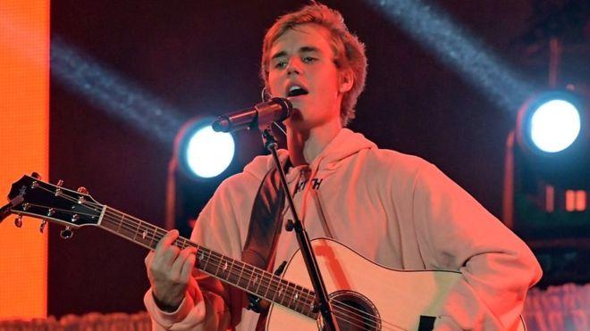 """Se dice que Justin Bieber está grabando un álbum de canciones """"aptas al cristianismo"""". (Foto Getty Images)"""
