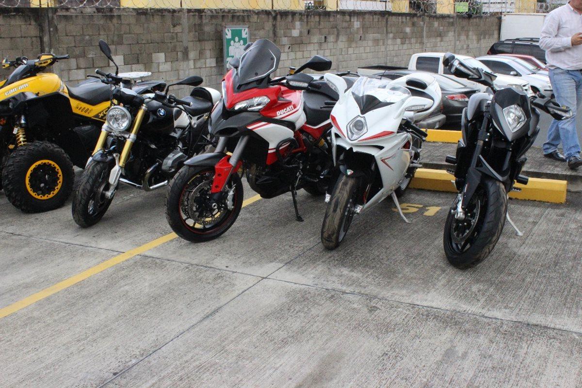 Motocicletas de Juan Carlos Monzón pasan a favor del Estado