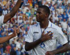 Juan Carlos García disputó más de treinta partidos con la selección hondureña. (Foto Prensa Libre: Twitter @FutbolTotal_HND)