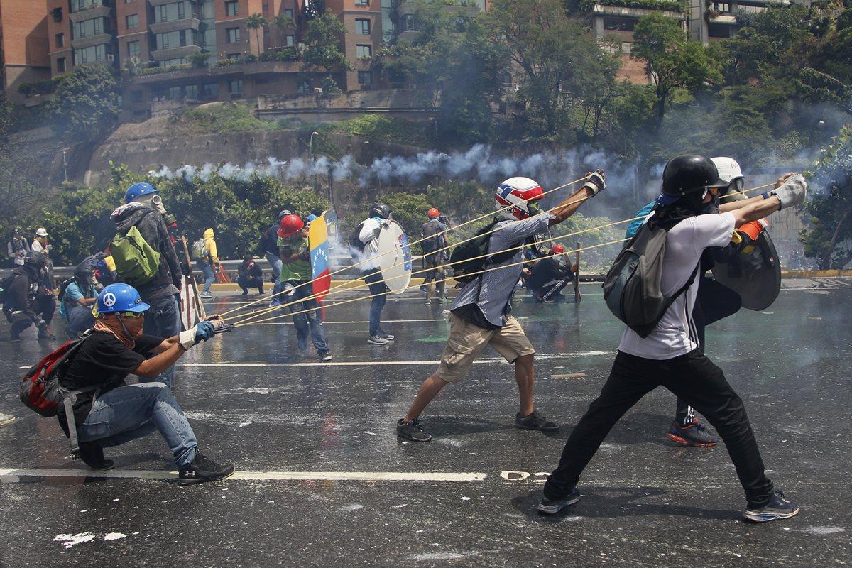 Oposición cumple cien días en las calles de Venezuela